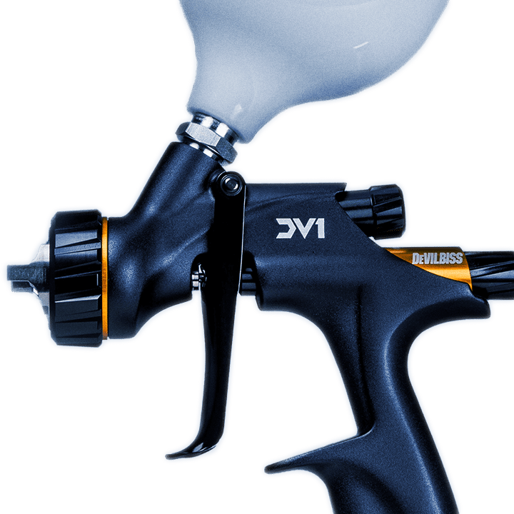 CarlisleFT Spray Gun DV1 - DSM Design Ltd