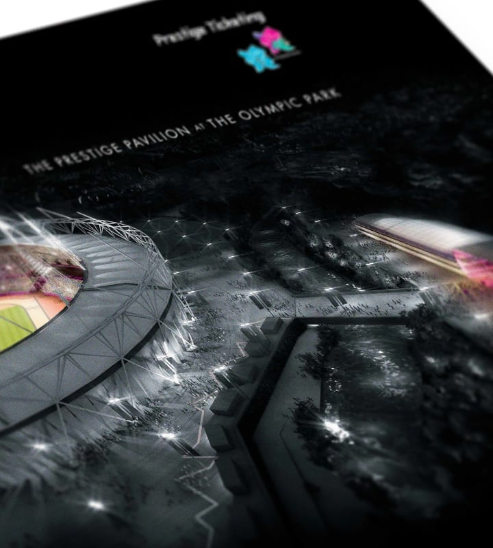 London 2020 Olympics Promo Banner - DSM design ltd