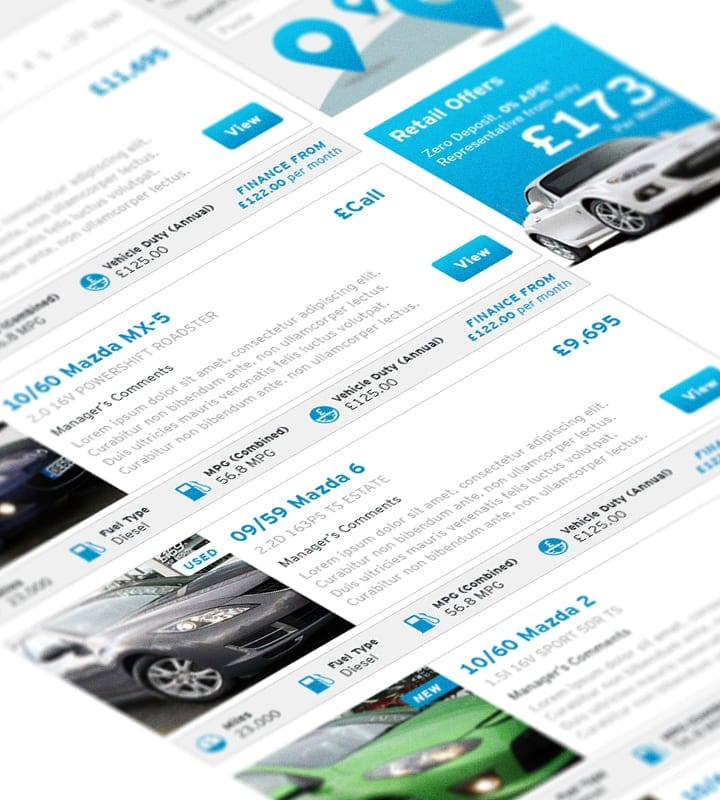 Magna Mazda Add Cars - DSM Design Ltd