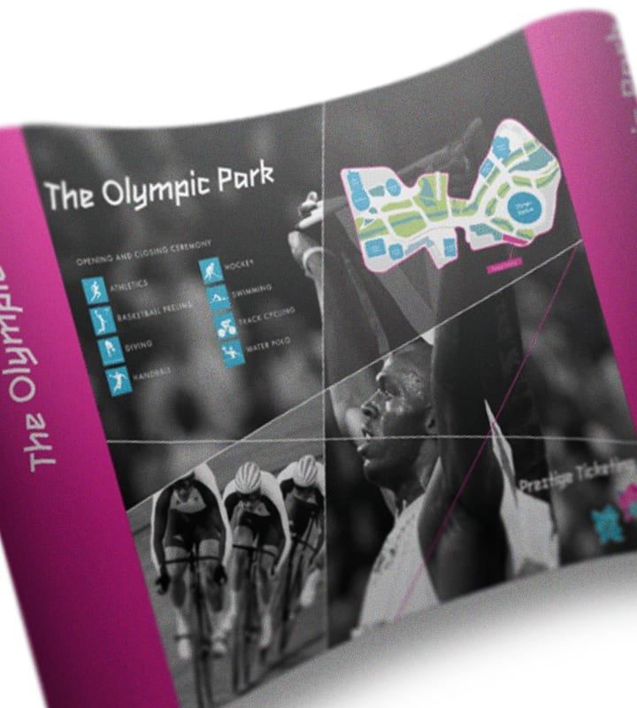 Olympic Banner Stand - DSM Design Ltd