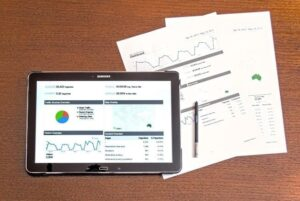 Paperwork and tablet