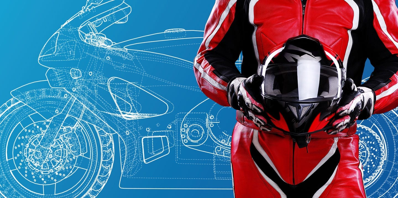 Motorcycle bike banner image