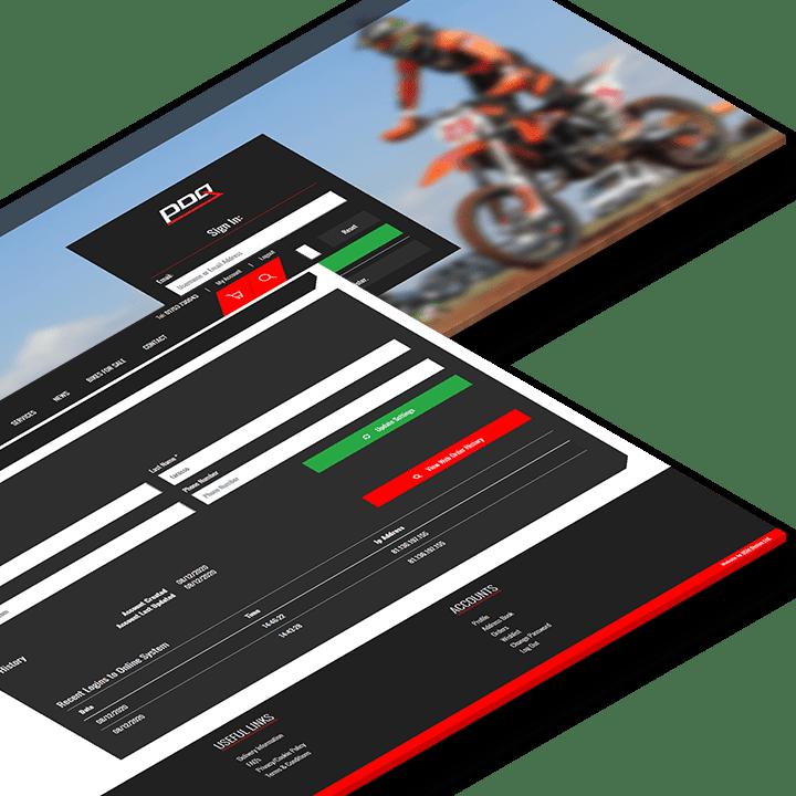 Website development by DSM Design