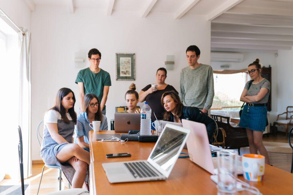 Focus groups user testing