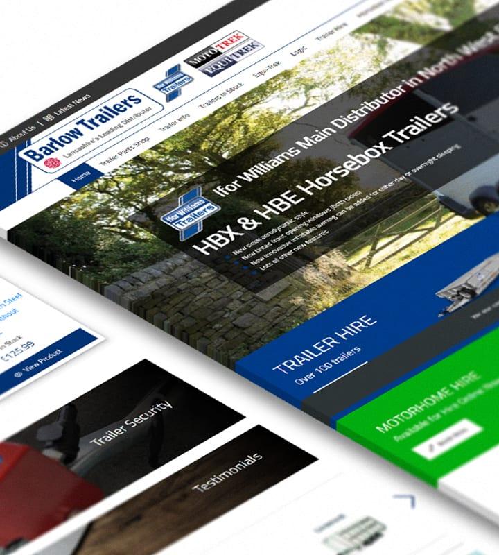 barlow trailers home page